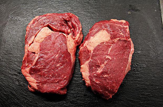 two steaks